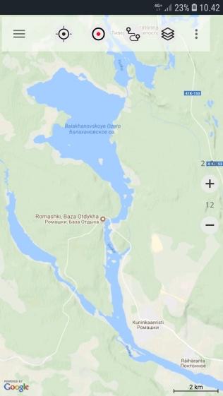 Lähtöpaikka Räihänranta.